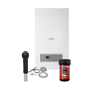 Glow-worm Ultimate3 35kW Combi Boiler with Vertical Flue and Free Adey Filter plus 10 Year Warranty  10021405