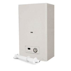 Heatline Capriz 2 24kW Gas Combi Boiler & Horizontal Flue Pack
