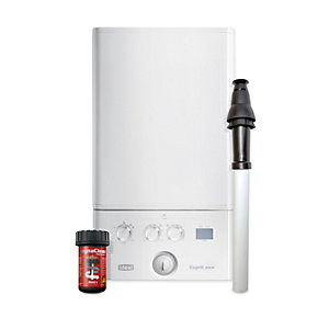 Ideal Esprit Eco2 24kW Gas Combi Boiler & Vertical Flue with Filter Pack