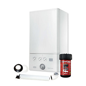 Ideal Esprit Eco2 30kW Combi Boiler with Horizontal Flue and MagnaClean Pro1 Filter Pack 210873