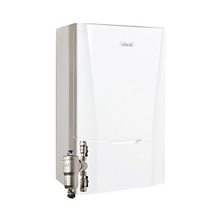 Ideal Vogue Max C40 40kW Combi Boiler with Vertical Flue and System Filter 218558