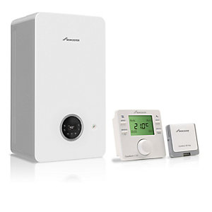 Worcester 2000 25kW Gas Combi Boiler with Comfort+ II Control and Horizontal Flue 7736902027