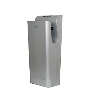 Premium 975/1975W Blade Hand Dryer with Hepa Filter - Silver