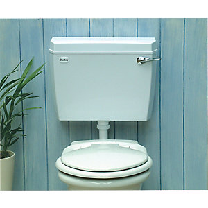 Dudley Acclaim Cistern Low Level Lever Sido White