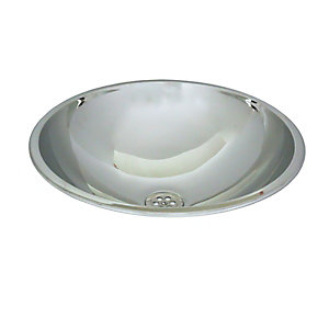Acorn Thorn 253-3 Inset Wash Bowl D390mmx145mm Stainless Steel