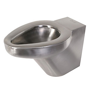 Acorn Thorn Btwp Back To Wall WC Pan & Ho (102) Stainless Steel