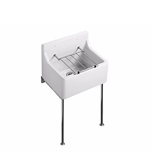 Armitage Birch 455 Cleaner Sink+pad+grating S591501