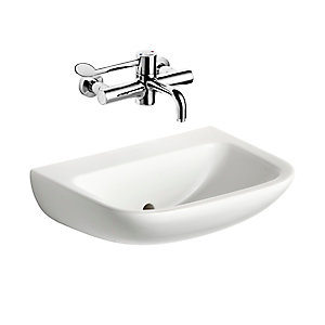 Armitage Shanks Contour 21 500mm Back Outlet Washbasin S215401