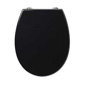 Armitage Shanks Contour 21 Black Toilet Seat and Cover for High Pan S405666