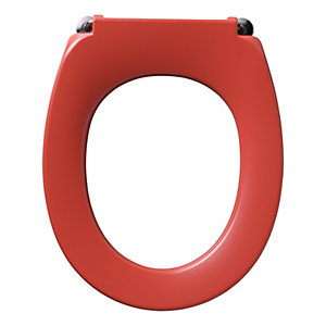 Armitage Shanks Contour 21 Red Toilet Seat (No Cover) for High Pan S4057GQ