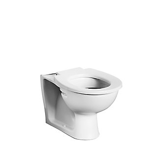 Armitage Shanks Contour 21 schools, back to wall and close coupled WC pan with horizontal outlet, 355mm high White S304701