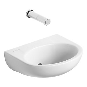 Armitage Shanks Contour Wash Basin 0 Tap Holes 380 mm S229001