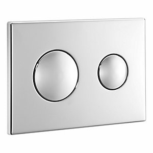 Armitage Shanks Flush Plate for Conceala 2 Brushed Nickel SS4397BX