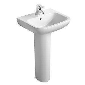 Armitage Shanks Portman 21 Pedestal Basin 1 Tap Hole 500 mm S248101