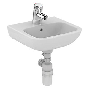 Armitage Shanks Portman 21 Wash Basin 1 Tap Hole 400 x 370mm S215701
