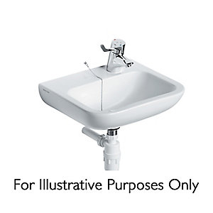 Armitage Shanks Portman 21 washbasin 50cm, 2 tapholes with overflow White S231001