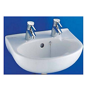 Armitage Shanks Portman Wash Basin 2 Tap Holes 500 mm S222001