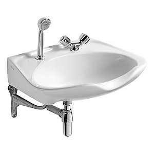 Armitage Shanks Salonex Wash Basin 2 Tap Holes 610 x 510 mm S229001