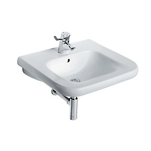 Ideal Standard Contour 21 Accessible Wash Basin 1 Tap Hole 600 x 550 mm S216801
