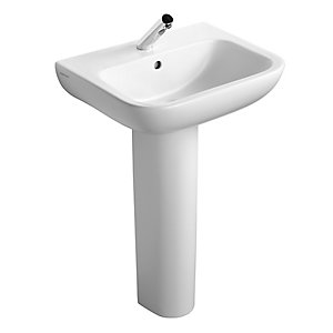 Ideal Standard Portman 21 Pedestal Basin 1 Tap Hole 550 mm S247801