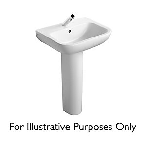 Ideal Standard Portman 21 Pedestal Basin 2 Tap Holes 550 mm S247901