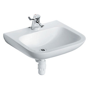 Ideal Standard Portman 21 Wall Mounted Wash Basin 1 Centre Tap Hole 500 mm S225201