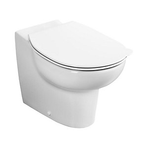 Ideal Standard S312501 Contour 21 Splash Back to Wall Bowl Ho 355 Rimless White
