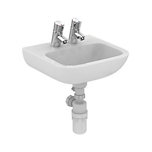 Portman 21 40cm Basin No Overflow Or Chain Hole - 2TH S215801