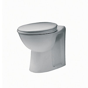 Twyford Av1168Wh Avalon Wc Pan H.O. Close Coupled/Back To Wall White