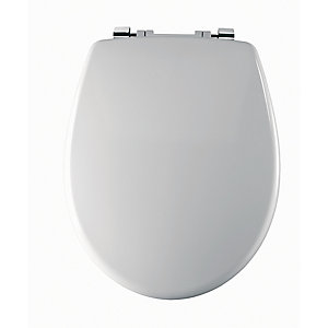 Twyford Av7865Wh Avalon/Sola Toilet Seat & Cover Top Fix White