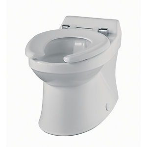 Twyford Sa1512Wh Sola School Rimless Pan Wc Ho 300