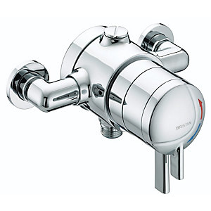 Gummers Sirrus STR TS1875 EDC C Stratus Exposed Dual Control Chrome Shower Valve