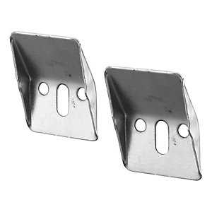 Ideal Standard pair steel wall hangers neutral / no finish E501067