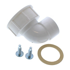 Worcester 87161070290 Elbow Assembly Siphon Outlet