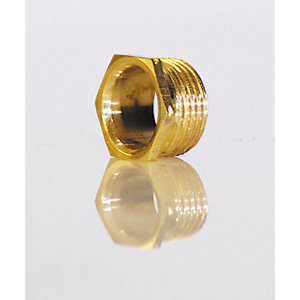 Deta DT40125 Brass Bush Male Short 25mm