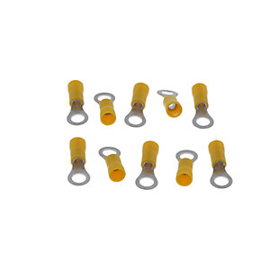 Regin Insulated Ring Connector - Yellow(10)