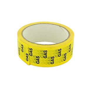 Hayes 662036 Yellow Gas Tape 33m