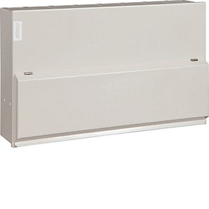 Hager 18th Edition 12 Way 6 + 6 Consumer Unit - VML966HRK