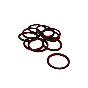4TRADE 1/2in Poly Pillar Tap Washers (Pack of 10)