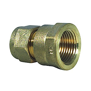 Compression Coupling Fi 6 x 10mm