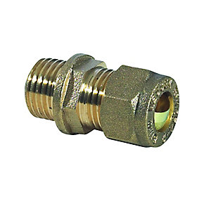 Compression Coupling Mi DZR 10 mm x 1/4""