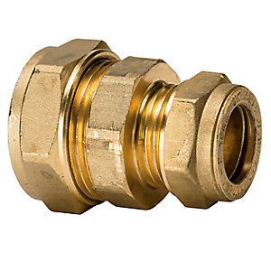 Compression Straight Coupling 28 x 15mm