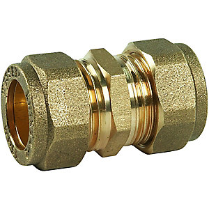 Compression Straight Coupling  DZR 28 mm