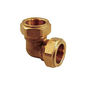 PlumbRight Equal Elbow Compression 22mm