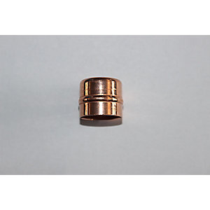 PlumbRight Solder Ring Fitting 22 mm Stop End