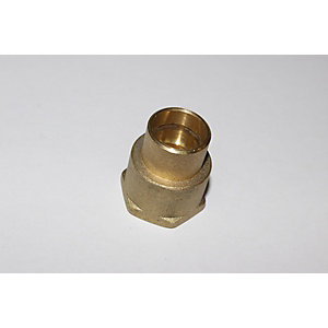 "PlumbRight Solder Ring Fitting 22 mm x 3/4"" Straight Female Connector"