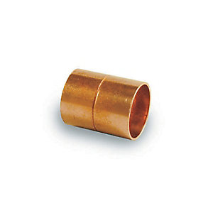 PlumbRight Straight Coupling End Feed 28mm