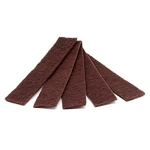 Rothenberger Medium Grade Webbed Abrasive Mini Strips (Pack of 10)