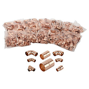 Water Only End Fittings 15-22mm 500 Piece Bundle
