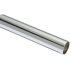 Wednesbury Copper Pipe Chrome Length 35mm x 3m